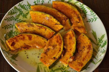 カボチャのオリーブオイル焼き1