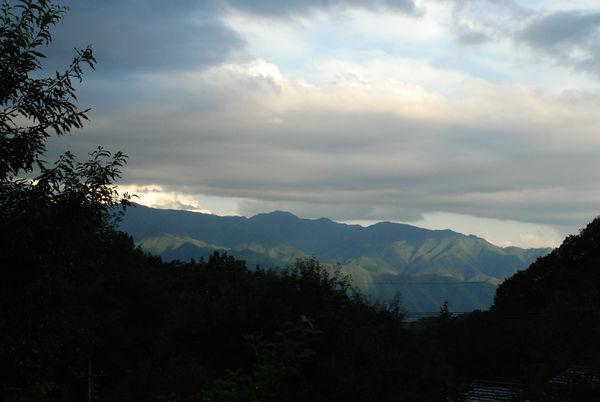 夕暮れの大菩薩嶺