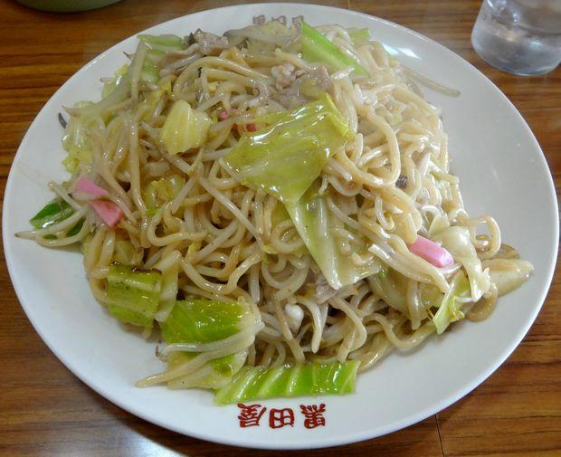 『黒田屋の博多チャンポン』皿うどん・大盛(680円)