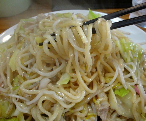 『黒田屋の博多チャンポン』皿うどん・大盛(麺リフト)