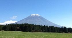 朝霧高原富士山②縮小