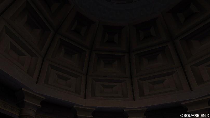 板チョコ天井