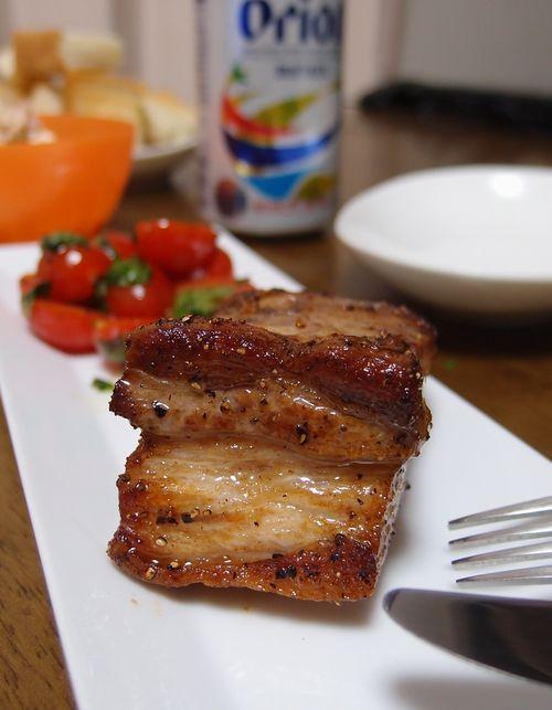 豚バラステーキ