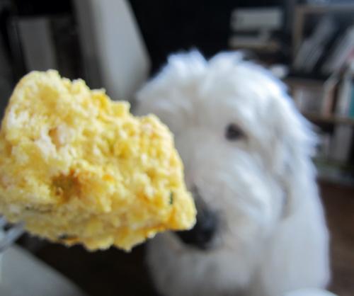 カボチャの蒸しパン