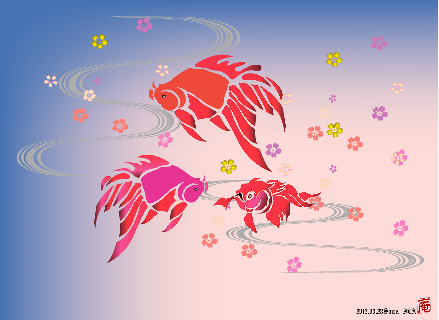 吉祥金魚Version2
