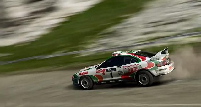 セリカGT-FOURラリーカー