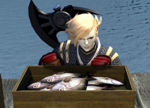 魚とルガ子