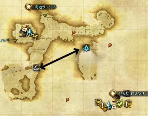 リムサ付近地図