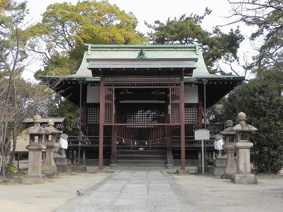 三島鴨神社一二三