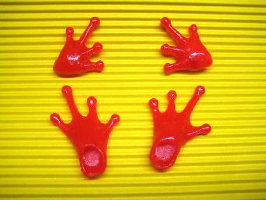 frog01_pカエル足靴とカエル手袋 どすこい!