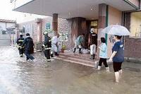 石川伏小松市内へ大迷惑吉害大雨來襲!