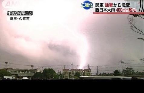列島二極化 関東は猛暑旱魃、西日本は大洪水雨に撃沈注意