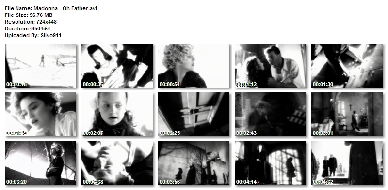 madonnaohfatherMadonna - 63 music videos - Rapidshare