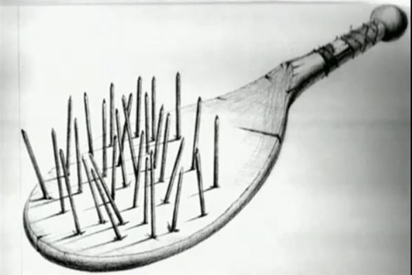 Albert Fish paddle