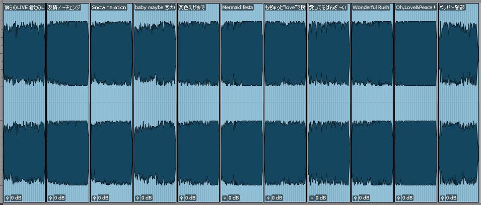ハイレゾ波形比較のコピー