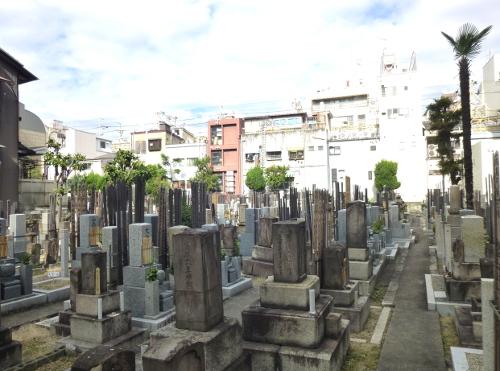 誓願寺墓地