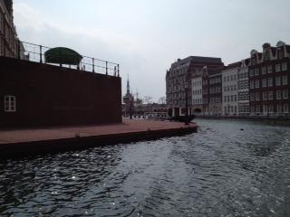 運河と景色