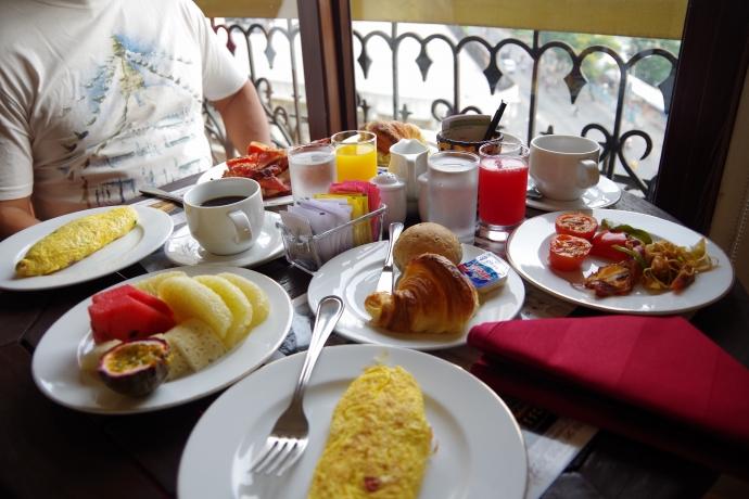 2013.01ホーチミン@Hotel Majestic Saigonの朝食01