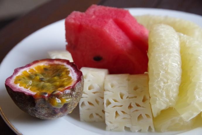 2013.01ホーチミン@Hotel Majestic Saigonの朝食02