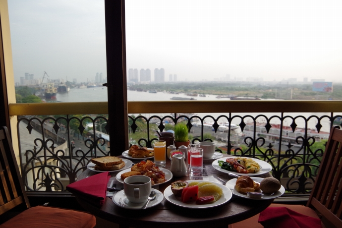 2013.01ホーチミン@Hotel Majestic Saigonの朝食03