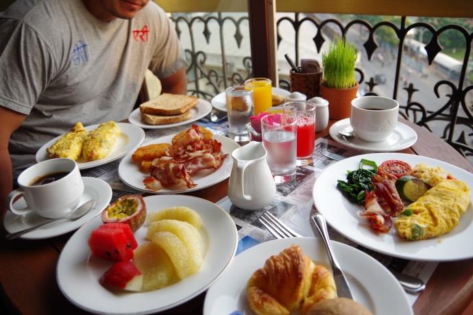 2013.01ホーチミン@Hotel Majestic Saigonの朝食04