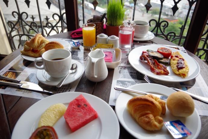 2013.01ホーチミン@Hotel Majestic Saigonの朝食05