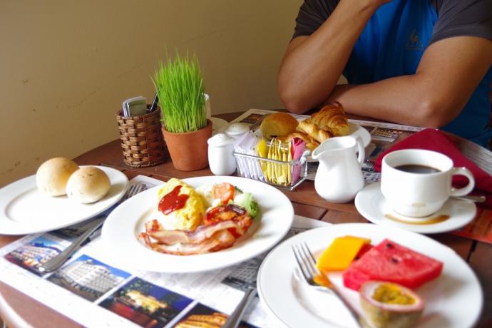 2013.01ホーチミン@Hotel Majestic Saigonの朝食08