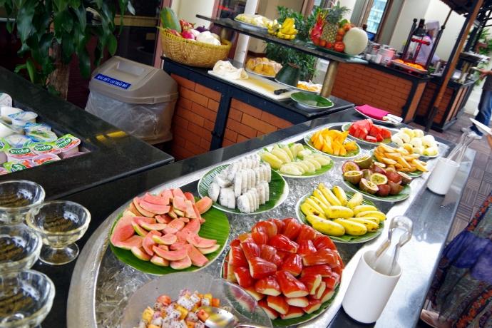 2013.01ホーチミン@Hotel Majestic Saigonの朝食11