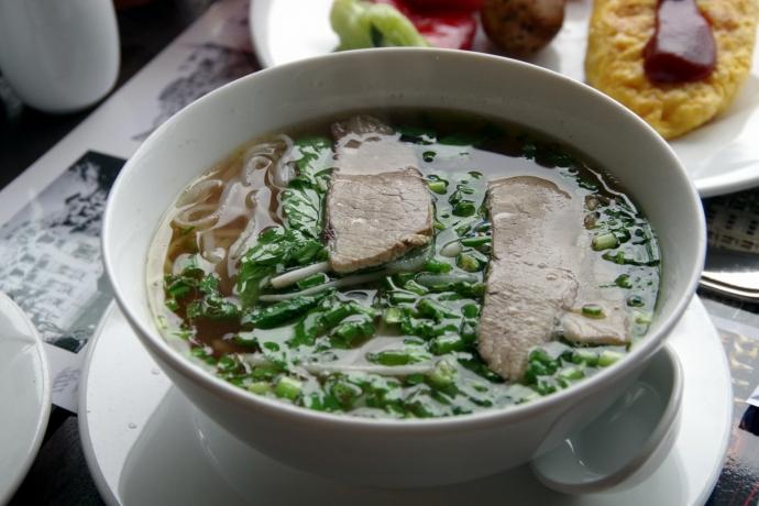 2013.01ホーチミン@Hotel Majestic Saigonの朝食12