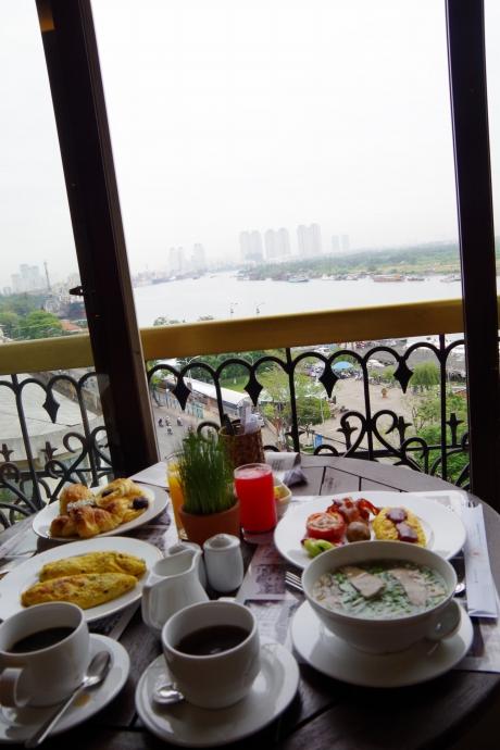 2013.01ホーチミン@Hotel Majestic Saigonの朝食10
