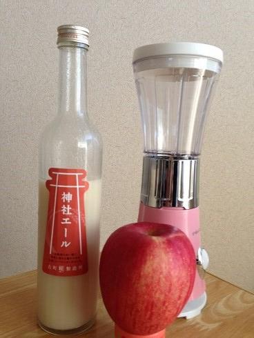 神社リンゴ