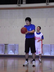 SONバスケ6月練習風景⑥