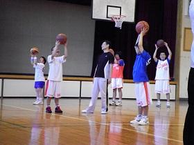 SONバスケ6月練習風景⑤