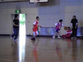 SONバスケ6月練習風景⑫