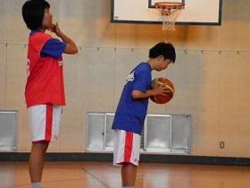 SONバスケ6月練習風景⑨