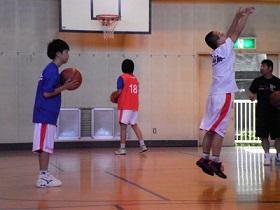 SONバスケ6月練習風景⑦