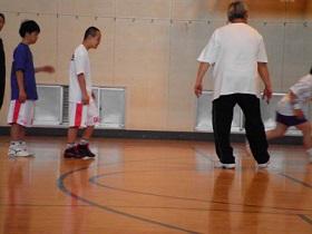 SONバスケ6月練習風景⑧