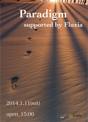20140111Paradigm supported by Fluxia