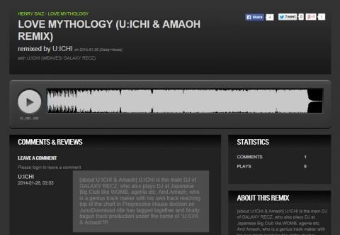 Love Mythology (UICHI  Amaoh Remix)