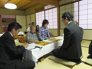 京都新聞新春プロアマ対局 001