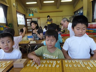 百々児童館こども将棋教室