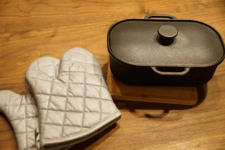 パロマのダッチオーブン ミット付き