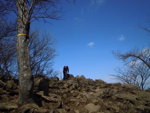 円山の頂上