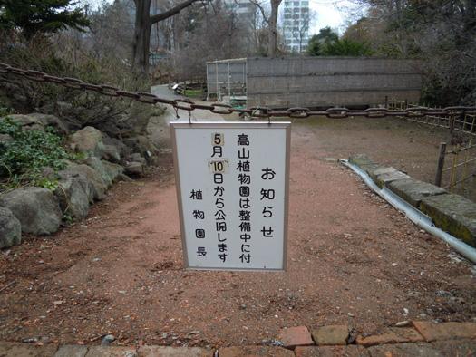 高山植物園は5月10日から公開。