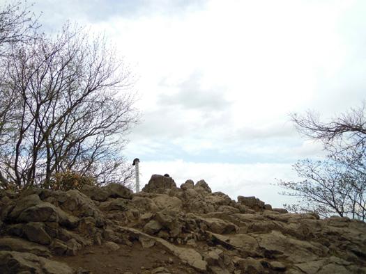 円山頂上。