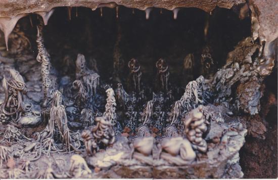溶岩鍾乳石