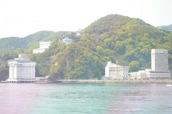近カー 45分で熱海到着