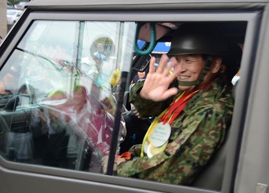 政経中枢師団の6300名を束ねる反怖第一師団長