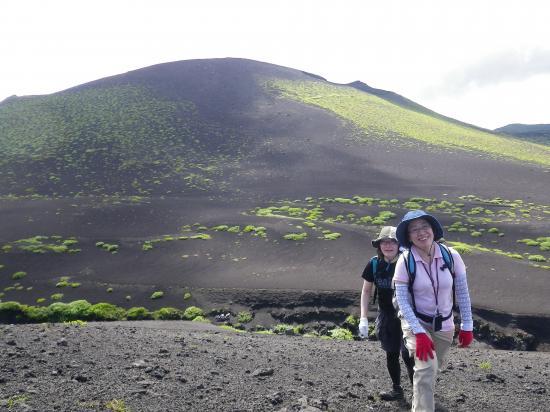 三原と三郷のお客さん 富士登山を数回経験しています(修行中)