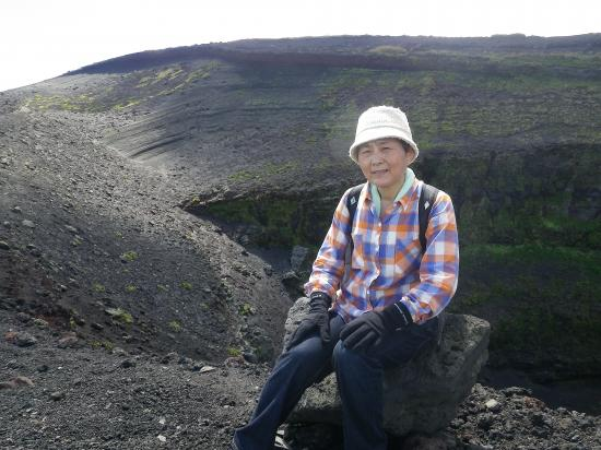 割れ目噴火 B2火口